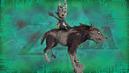 Zelda - Twilight Princess (Midna and Wolf Link) Minecraft