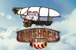 Bioshock Infinite - Airship Minecraft