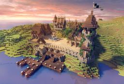 Port BlackWater Minecraft Map & Project