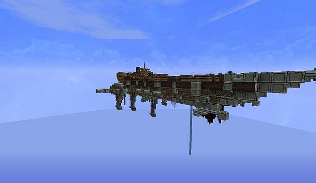 Old Aetherian Project Kerothian Fleet Cerberus Class Light Gunship Minec
