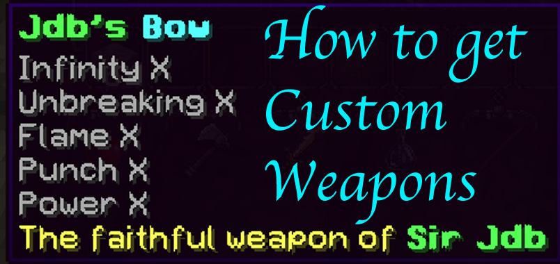 How to make custom weapons Minecraft Blog
