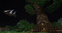 Deku Tree and Airship Minecraft Map & Project
