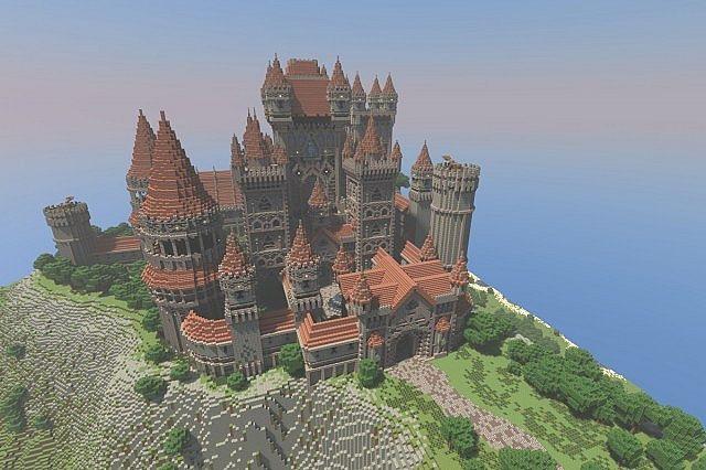 Lightfall Castle Minecraft Project