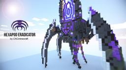 Hexapod Eradicator Minecraft Map & Project