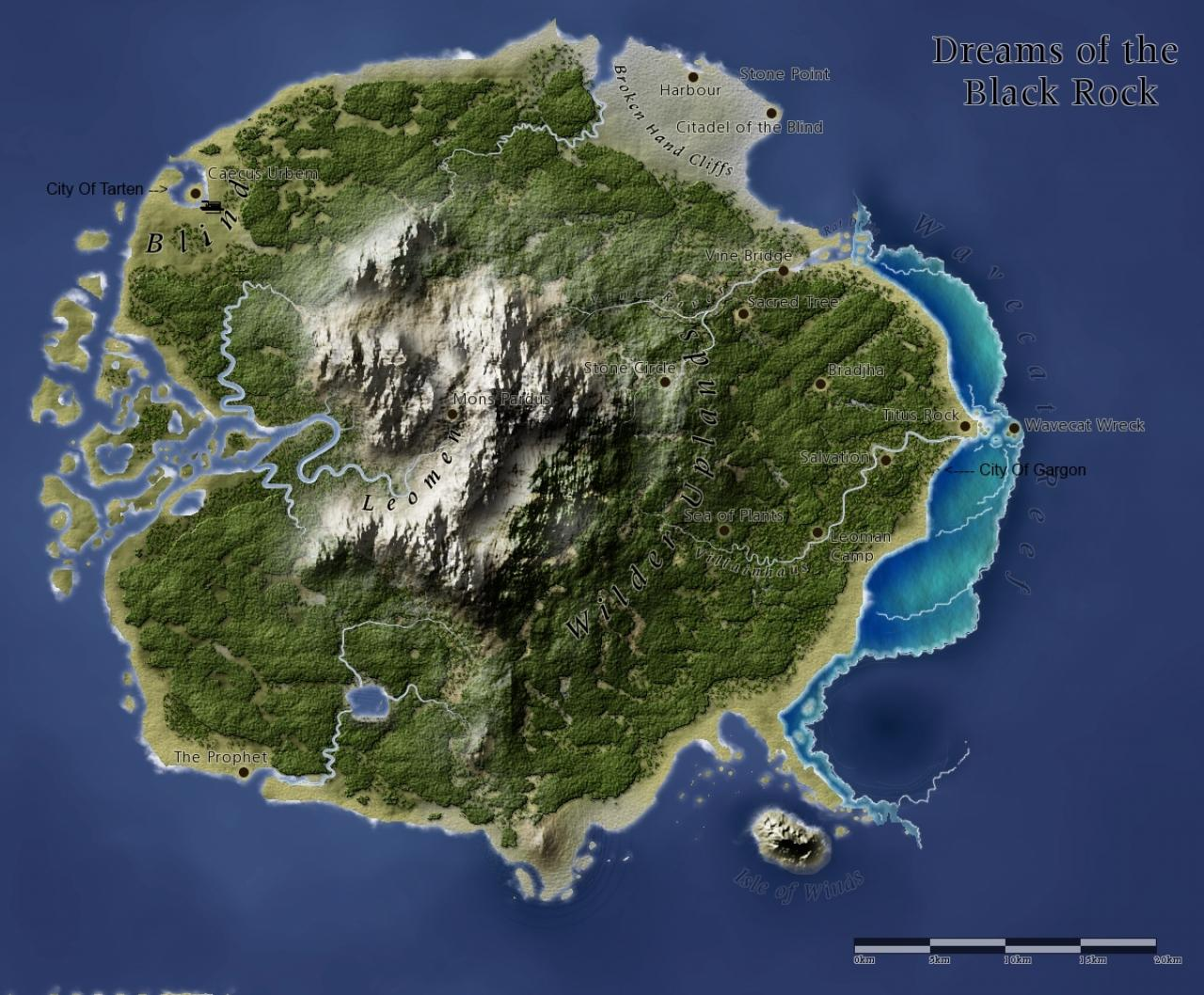 Minecraft Map Terraformer Island