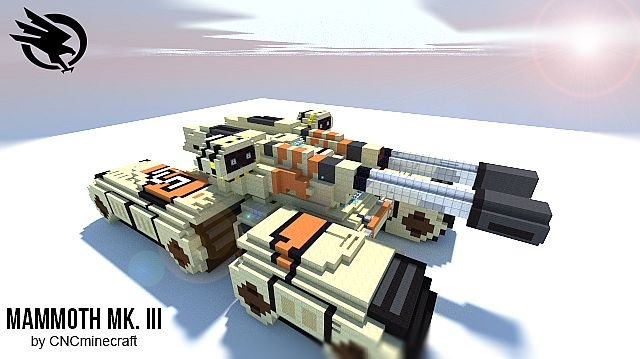 MammothTankChunky 5223262 GDI Mammoth Tank (C&C3) Map