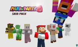 Mario Party Eight Skin Pack Minecraft Map & Project