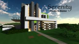 Serenity Modern Home Minecraft Map & Project