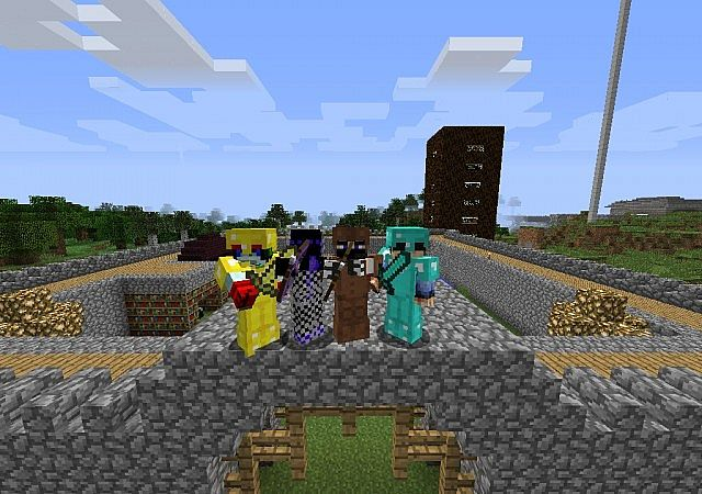 The spawn with admins.