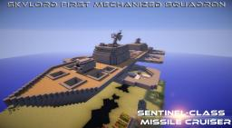 Sentinel-class Missile Cruiser Minecraft Map & Project