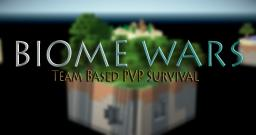 Biome Wars - Team Based Redstone Pvp Map Minecraft Map & Project