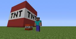 TNT Block Map Minecraft Project