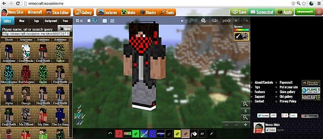 Tutorial how to make cool skins minecraft project Minecraft 3d model maker