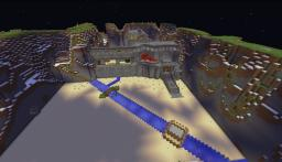 my version of Helms Deep from (lord of the rings) !! Minecraft Map & Project