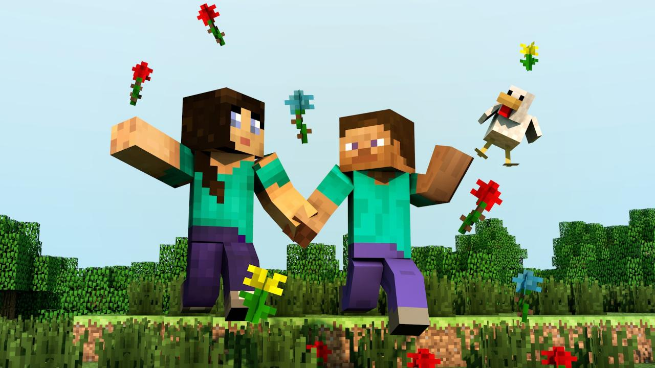 Minecraft a true love story