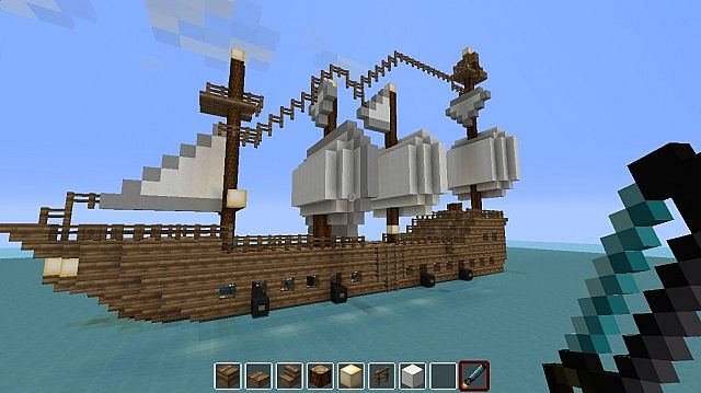 Pirate Ship Minecraft Map