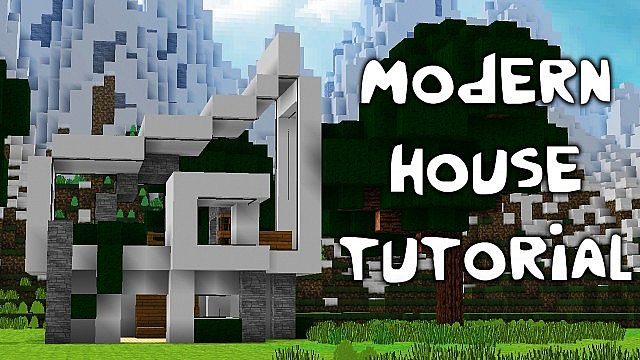Minecraft Modern House Tutorial Download Minecraft Project. Minecraft Modern House Tutorial Step By Step Pictures
