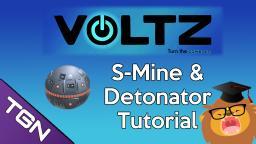Voltz Tutorial - S-Mine and the Detonator With TacticalLion Minecraft Blog