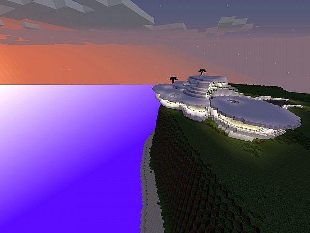 Iron Man  Tony Stark House New Version     Minecraft Project