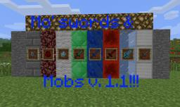 Mo' Swords and Mobs mod (DISCONTINUED) Minecraft