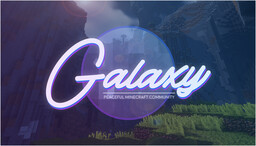 ✭✦ Galaxy ✦✭ [Bedrock Crossplay!] Minecraft Server