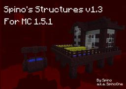 [1.5.1] Spino's Structures v1.3 Minecraft