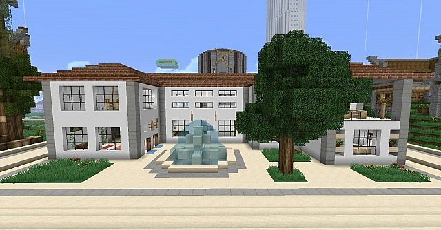 A Contemporary home located outside spawn.