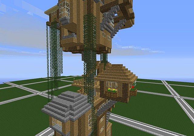 Treeless treehouse minecraft project for Treeless treehouse
