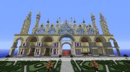 Basilicum Cathedral Vanish (Gaudi & Venice mix) Minecraft Project