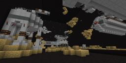 Epic Space cannon battle with Cake Minecraft Project