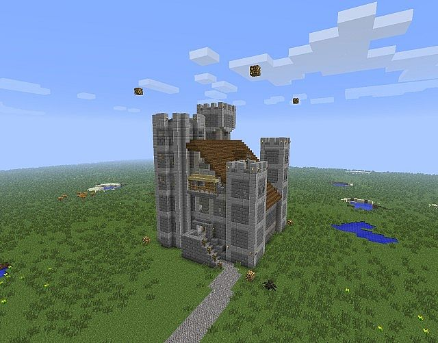 Small Castle Fortress Minecraft Project