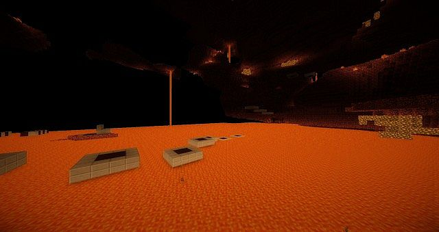 Sprint Parkour In The Nether!