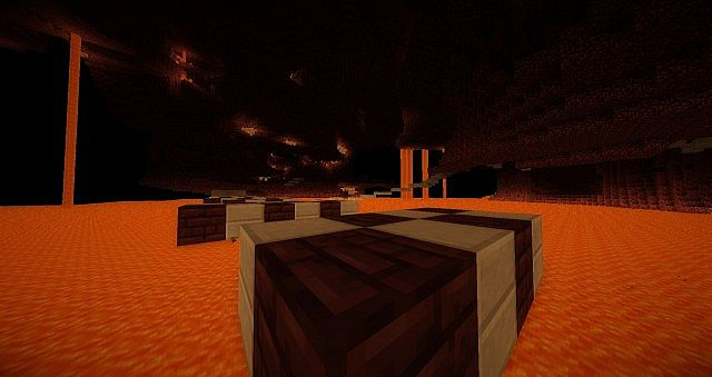 In The Nether!