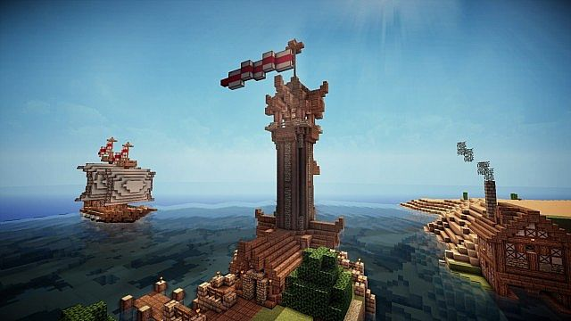 medieval lighthouse   download minecraft project