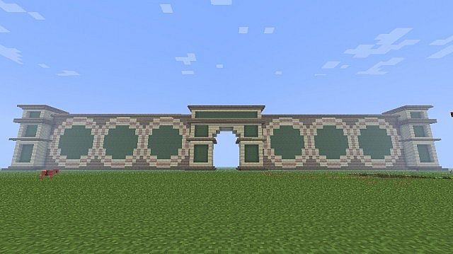 minecraft gate design. Interesting Gate City Gates To Minecraft Gate Design G
