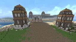 The city of the Hawk Minecraft Map & Project