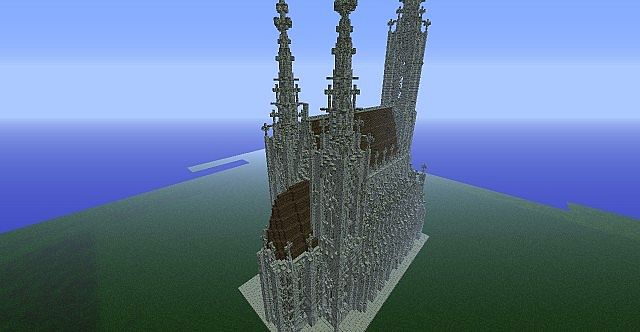 Eglise Gothique Minecraft
