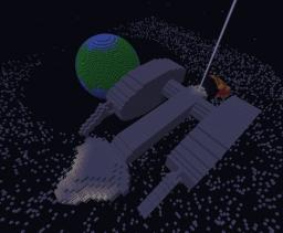 Intergalactic Armored Carrier: The MSS Aphrodite Minecraft Map & Project