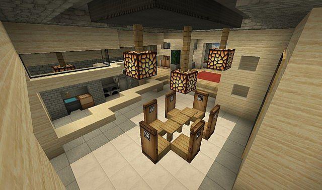 pentagon mansion minecraft project