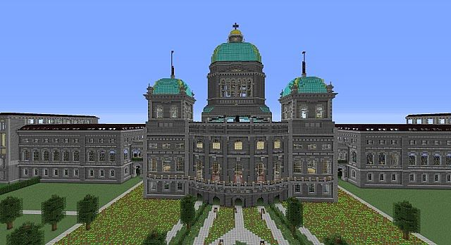 Bundeshaus Parliament Building Of The Swiss Government