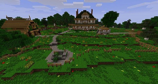 Minecraft PS4: The Walking Dead Hide N Seek Map Download