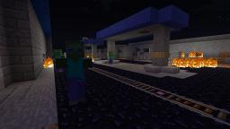 Call of Diamond: Block Ops II, Zombies, Tranzit | Green Run Minecraft Map & Project