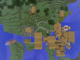 The Legend of the Dad Adventure map Minecraft Project