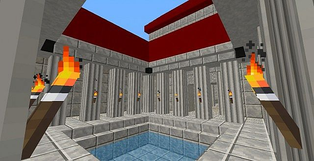 Architectury ancient rome architectury atrium house minecraft project - What houses romanians prefer ...