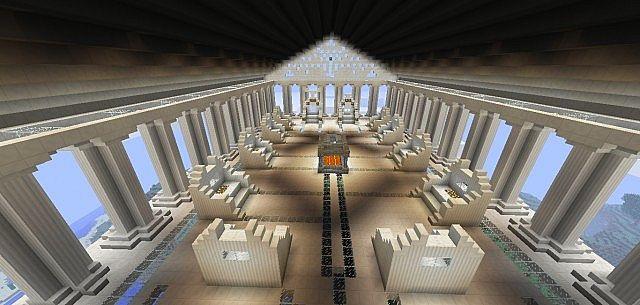 Mount Olympus Minecraft Project