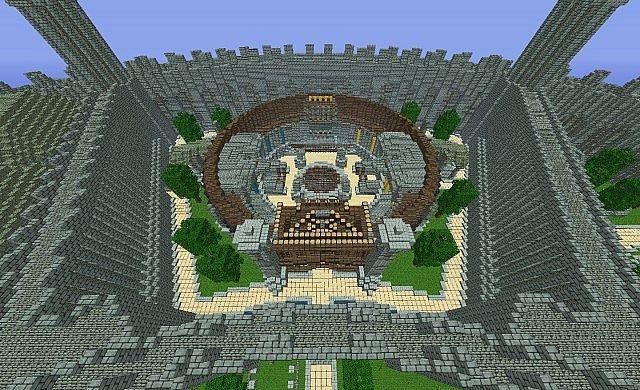 My Imperial City Oblivion Working Progress Minecraft
