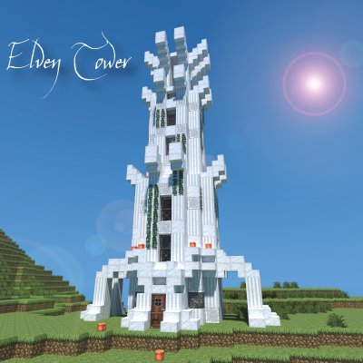 Elven Tower Minecraft Project