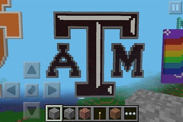 Texas AM Aggies Pixel Art