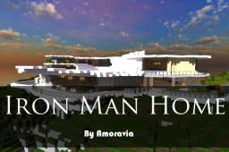 Iron Man Malibu Home - Completely Furnished [Includes Garage] Minecraft Map & Project