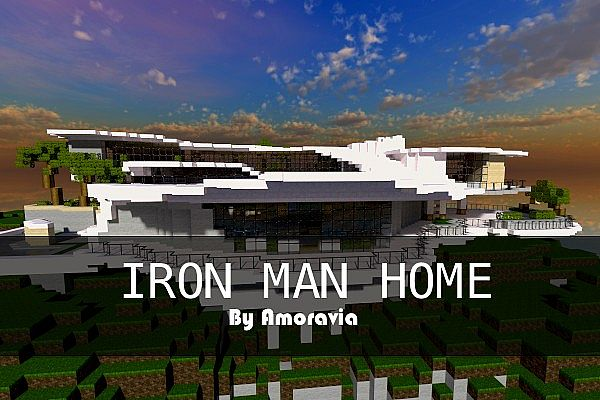 Iron Man House House Plan 2017